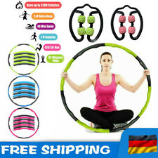8 Teile Hula Hoop 1.2KG Reifen Fitness Schaumstoff Bauchtrainer Fitnesstraining?