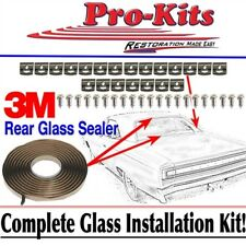 FITS 68 69 70 Roadrunner GTX Coronet Rear Window Glass Clip Installation Kit