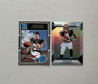 2016-2017 Tyler Boyd Silver prizm rc #270 + donruss rated rookie Bengals