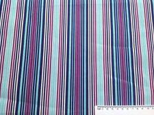 Print fabric(Spots&Stripes-Rainbow Multi Stripe)  Per Metre
