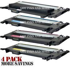 4/PK Color Toner Set for Samsung CLT-K406S CLT-C406S CLT-M406S CLT-Y406S