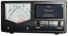 Jetstream JTWX1 - CROSS NEEDLE SWR Meter 1.8 - 200 MHZ,  For Up to 3000 Watts!