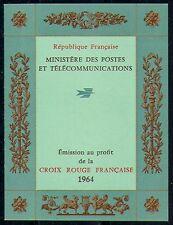 France 1964 Red Cross/Medical/Health 8v bklt (n29186)
