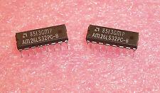QTY (25) AM26LS32PC AMD 16 PIN DIP QUAD RECEIVER 26LS32 NOS 1 TUBE