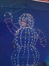 Life Size Snowman/Animated In-Out Door 3 D Must C Wow