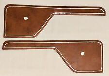 73-79 Ford Truck 78-79 Bronco Custom Replacement Door Insert Panels Brown