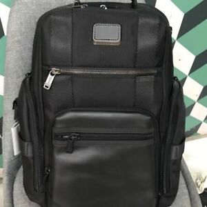 New $475 Tumi Alpha Bravo Sheppard Deluxe Ballistic Nylon Backpack