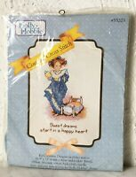 Vintage Holly Hobbie Sweet Dreams Counted Cross Stitch Kit Distlefink