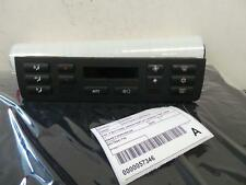 BMW 3 SERIES HEATER/AC CONTROLS E46, 4 BUTTONS UNDER DISPLAY SCREEN TYPE, 09/98-