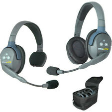 Eartec UltraLite 2-Person Headset System with Batteries, Charger & Case Eaul2Sd