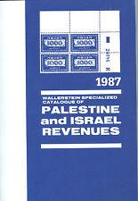 WALLERSTEIN CATALOGE FOR PALESTINE & ISRAEL REVENUES