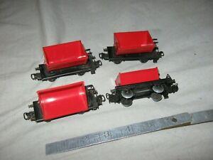 A6294 HO 4 MARKLIN PLASTIC DUMP CARS