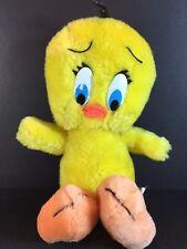 "Vintage Looney Tunes TWEETY BIRD Plush Warner Bros - 1971 Mighty Star 9"""