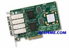 LSI 7404EP-LC PCI-Express 4-Port 4Gb/s FC Fibre Channel Card w/ Transceivers