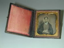 rare daguerreotype in sound box Lady at the SCARF photo photography