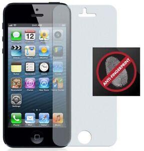 2 ANTI-GLARE FINGERPRINT SCREEN PROTECTOR SCRATCH SAVER FOR iPHONE 5 5s SE 2016