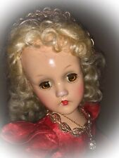 "Gorgeous 1939-'40 Composition 14"" Wendy Ann SLEEPING BEAUTY Doll"