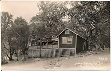 Duncan Springs Resort in Hopland CA RP Postcard