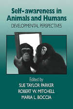 Self-Awareness in Animals and Humans: Developmental Perspectives, , Very Good co