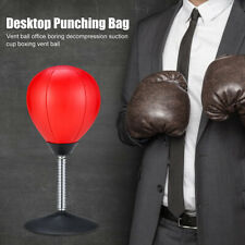 Desktop Punching Bag Stress Buster Suction Cup Stress Relief Ball with Pump ❤