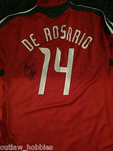 Toronto FC Dwayne De Rosario Signed Autographed MLS Soccer Authentic Jersey COA