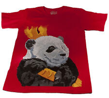 Giant Panda T-shirt (S) - Made in USA - Support Wildlife Conservation, Read How