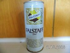 Falstaff Beer Can Tin One Pint Pull Tab Top Opened