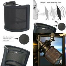 Sywon Metal Mesh And Foam Layer Mic Cover Handheld Microphone Pop Filter Windscr
