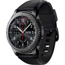 SAMSUNG Gear S3 Frontier, Smartwatch, Silikon, 22 mm, Korpus: Space Gray, Siliko