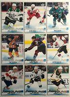 9 Card Lot 2019-20 Upper Deck Young Guns Rookies Oilers Bruins Detroit Keeper