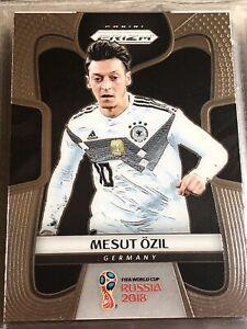 Mesut Özil Panini Prizm World Cup 2018 Germany Soccer Football Card