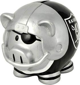 NFL Las Vegas Raiders Piggy Bank Thematic Money Box