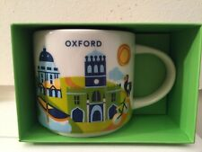 Starbucks Oxford Mug Cup, City Collectible England You Are Here, University YAH