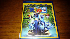 Rio 2 (Blu-ray/DVD, 2014, 3-Disc Set, Deluxe Edition Includes Digital Copy)
