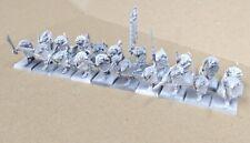 X20 CLANRATS & Comando SKAVEN isla De Sangre Warhammer edad de Sigmar fantasía B