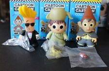 Lot of 3 Cartoon Network Titans: Wave 2 Collection - Greg, Wirt & Johnny Bravo