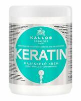 Kallos Keratin Hair Mask with Keratin and Milk Protein Dry Damaged Hair 1000ml
