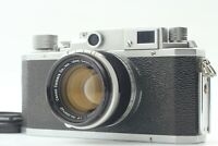 [Exc+5] Canon IIIA w/Canon Lens 50mm f/1.8 From Japan 640