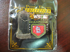 2011 World Series Champs Trophy Pin - Cardinals