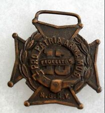 "1913 Nyng 13Th Rgt Hm ""Gg Braxmar Co 10 Mordenlane Ny"" Planchet Only Bronze"