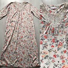 Femmes Thermique Chemise de nuit Soft Touch Flanelle traditionnel Boutonné Style