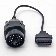 Diagnose Stecker Adapter OBD 2 auf OBD 1 16Pin zu 20Pin Kabel II BMW Ediabas