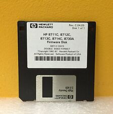 HP 08712-10015 Rev: C.04.03, 8711C, 8712C, 8713C, 8714C, 8730A Firmware Disk 1/1