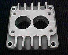 FLAT HEAD HOT RAT ROD CARB ADAPTER-2X2 TO 4V FL-CA-5-WCFB