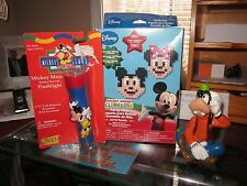 DISNEY MICKEY MOUSE FLASHLIGHT, PARTY PACK, AND GOOFY