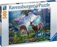 JIGSAW PUZZLES 500 PIECES DEER IN THE WILD SEALED BRAND NEW RAVENSBURGER