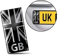 3D Gel UK Flag Union Jack GB License Number Plate Sticker Decal Badge Road QS 28