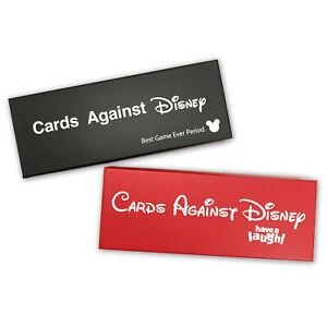 Cards Disney Version of CARDS AGAINST Melbourne Red+Black Boxes