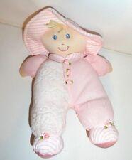"CLOTH LOVIE BABY DOLL THERMAL WAFFLE PINK 10"""