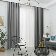 Plain Coloured Flannel Curtains For Living Room Bedroom Window Treatment Curtain